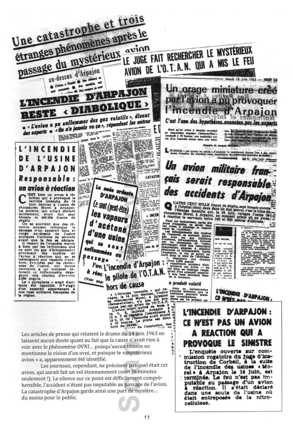 Saint Germain les Arpajon  - Le 14 Juin 1963 Fr11-30954f4