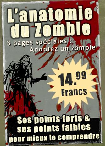 anatomie du zombie