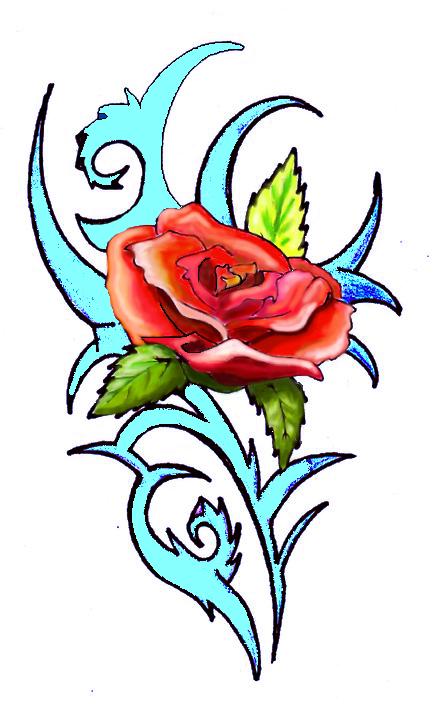 il faut un titre Rose-2d50033