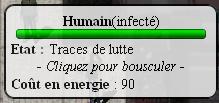 humain infecté