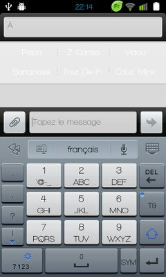 clavier 3x4 android